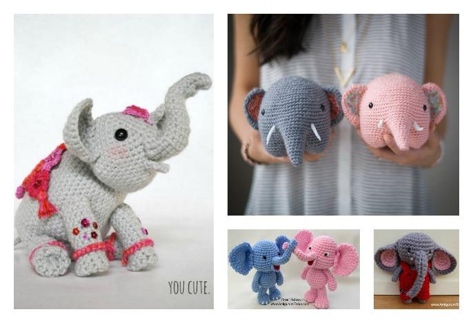 Amigurumi Little Elephant Free Pattern | 469x686