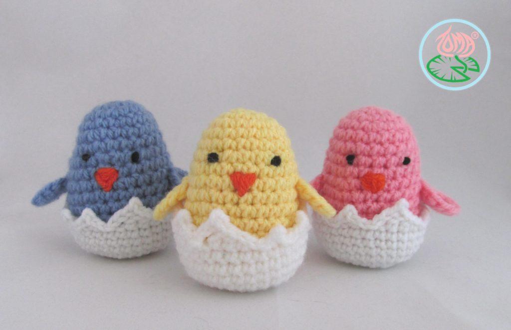 Amigurumi Hatching Easter Chicks Free Crochet Pattern Cool