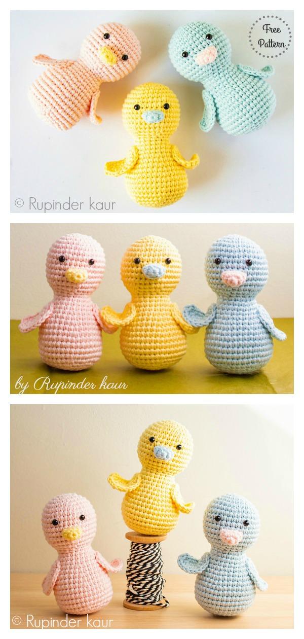 Chick A Peeps Free Crochet Pattern
