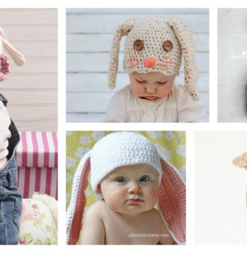 Adorable Crochet Bunny Hat Free Patterns for Easter