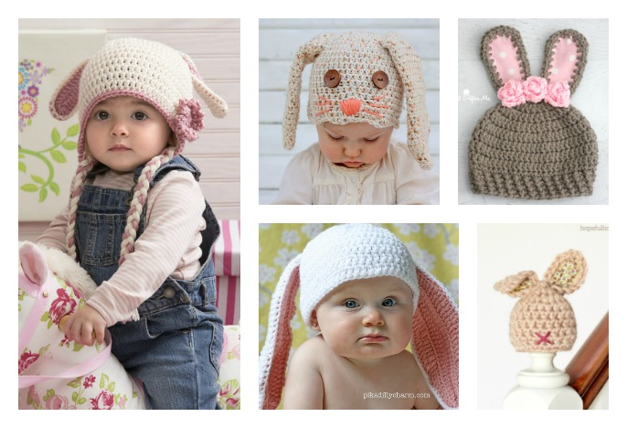 Crochet Bunny Hat Free Patterns - Cool Creativities bbe0ec40237