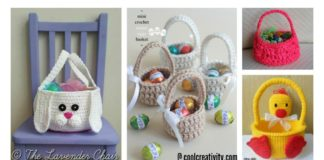 Crochet Easter Basket Free Patterns