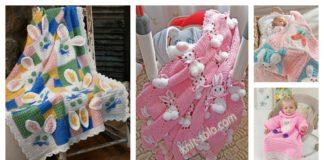 Crochet Bunny Blanket Free Patterns