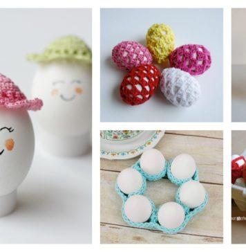 Crochet Easter Egg Cozy Free Patterns