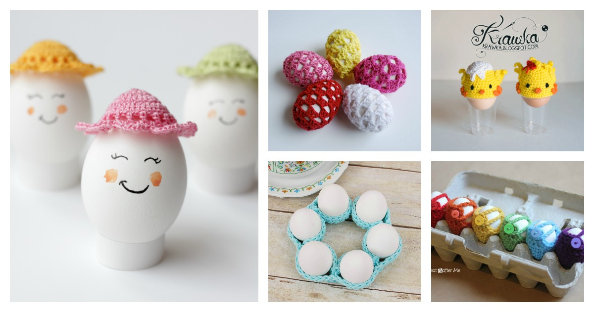 Crochet Easter Egg Cozy Free Patterns