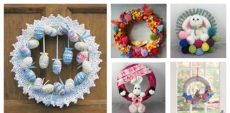 Crochet Easter Wreath Patterns