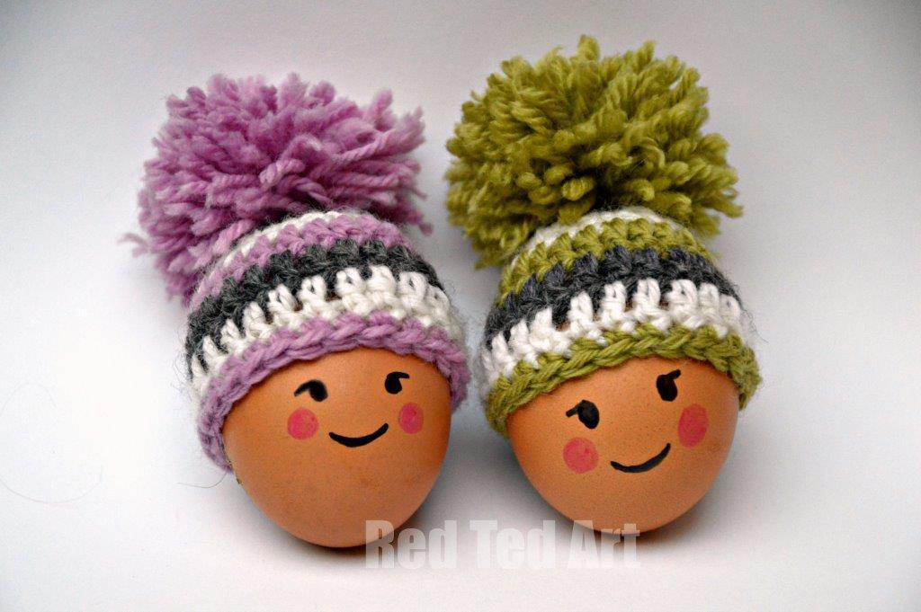 Free Knitting Pattern Egg Cozy : Crochet Easter Egg Cozy Free Patterns
