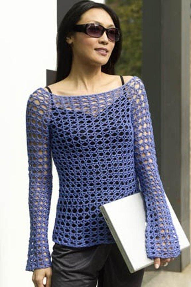 Crochet European Goddess Tunic Free Pattern