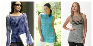 Gorgeous Summer Crochet Top Free Patterns