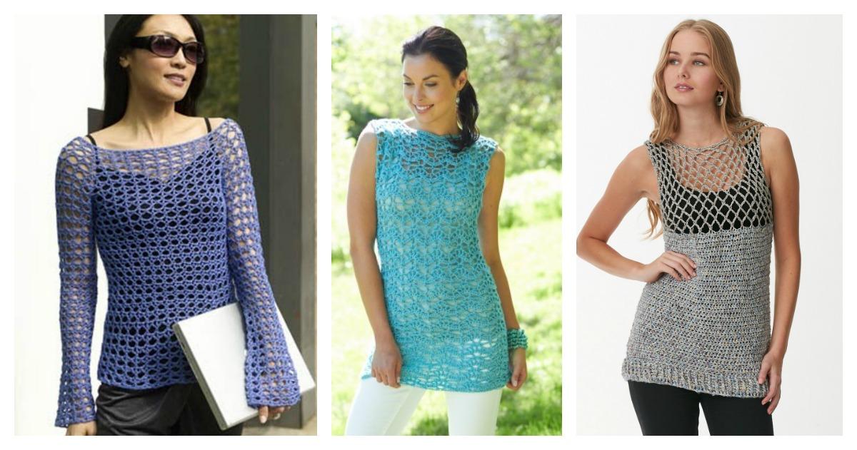 Gorgeous Summer Crochet Top Free Patterns Cool Creativities