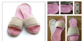 Crochet SPA Slippers Free Patterns