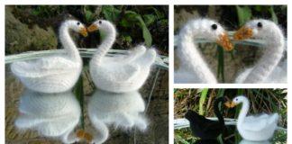 rochet Love Swan Amigurumi Free Pattern