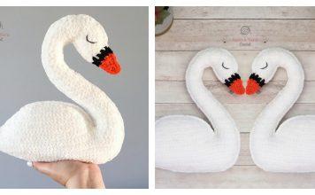 Swan Amigurumi Free Crochet Pattern