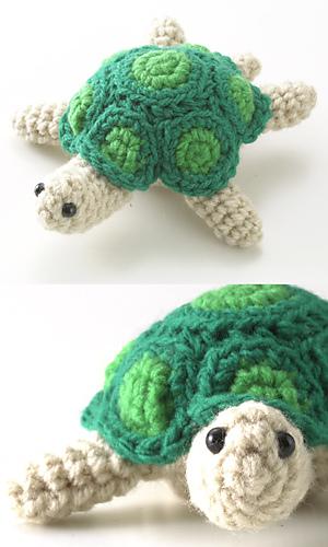 Crochet Turtle Amigurumi Free Pattern