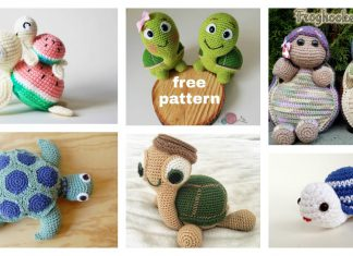 Crochet Turtle Amigurumi Free Patterns