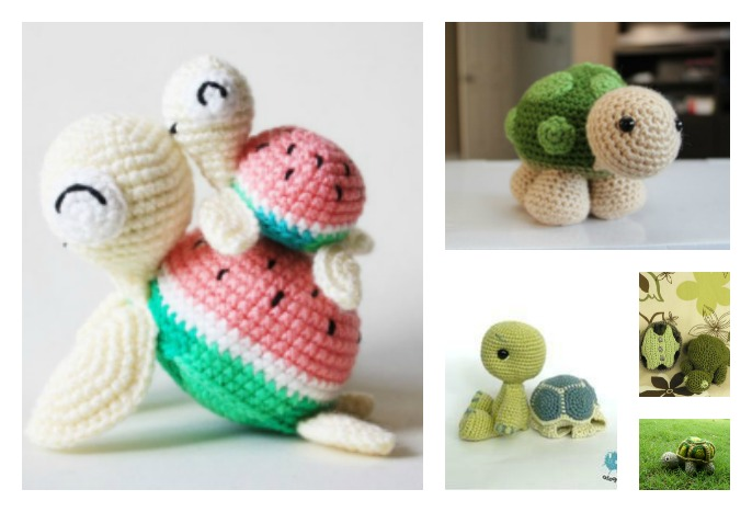 Amigurumi Turtle Pattern : Crochet turtle amigurumi free patterns cool creativities
