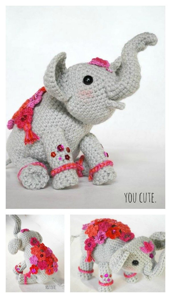 Amour Fou | Crochet }: { Gustav, the balancing elephant... } | 1043x600
