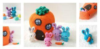 Free Crochet Rabbit Pattern