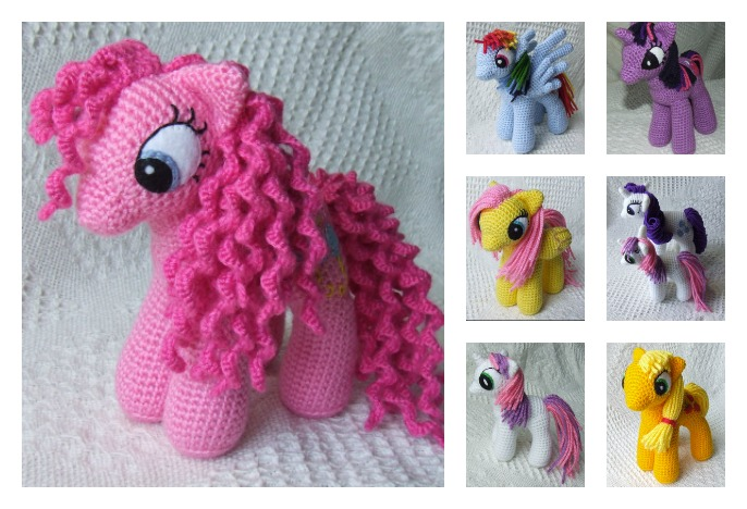 Awesome My Little Pony Free Crochet Patterns Cool Creativities