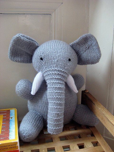 Free Elephant Toy Amigurumi Knitting Pattern Cool Creativities