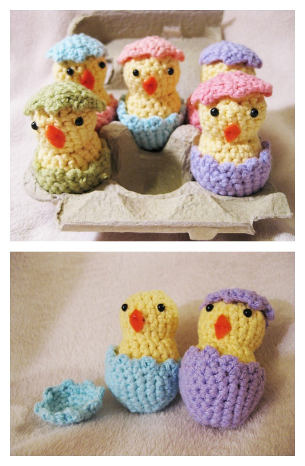 Free Hatching Easter Chicks Crochet Pattern Cool Creativities