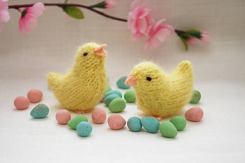 Adorable Chick Free Knitting Patterns