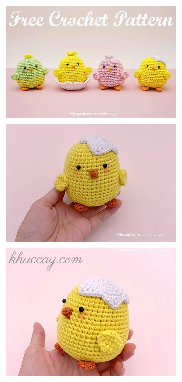 Little Chip Chip Chick Free Crochet Pattern