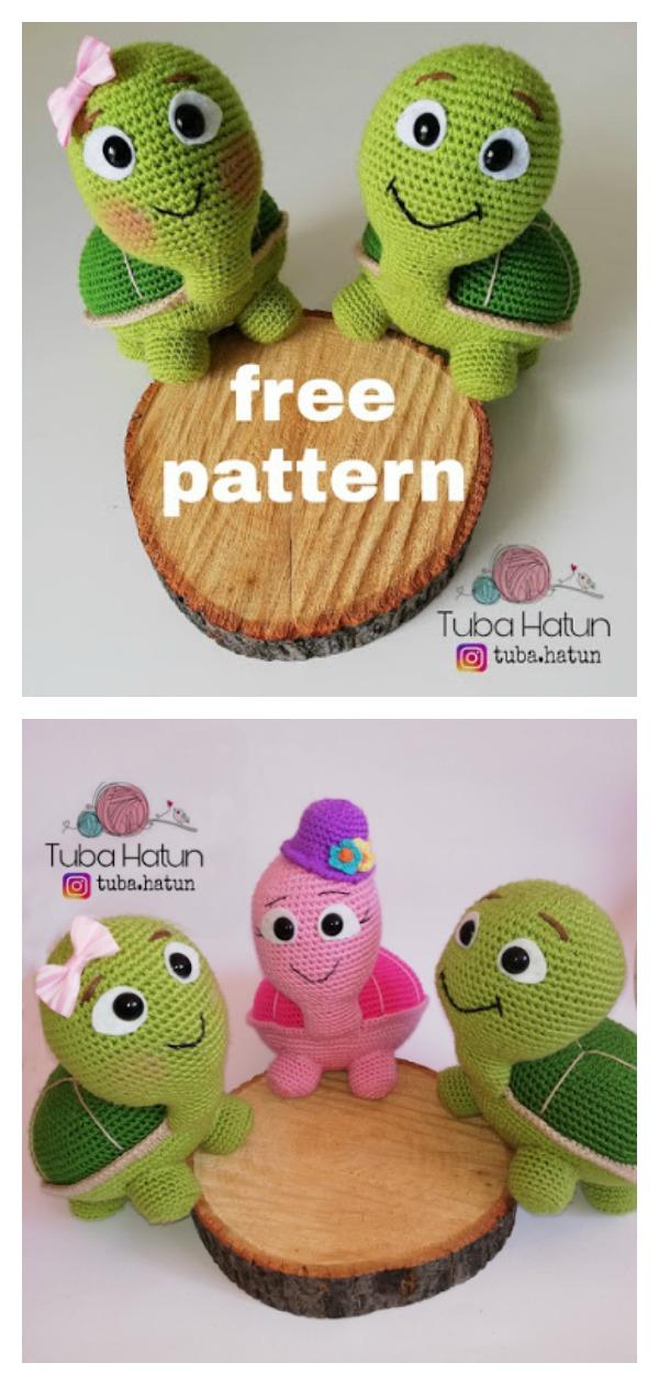 Crochet Turtle Pattern - YouTube | 1260x600