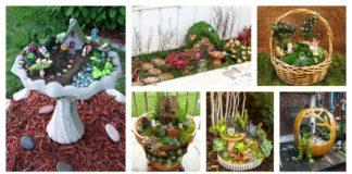 8 Amazing Miniature Fairy Garden DIY Ideas