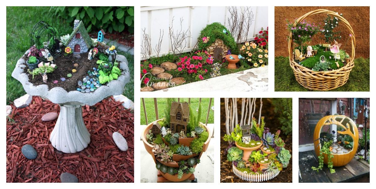 8 amazing miniature fairy garden diy ideas for Fairy garden ideas diy