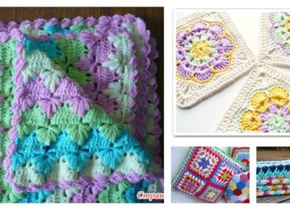 Beautiful Spike Stitch Crochet Free Patterns and Projects