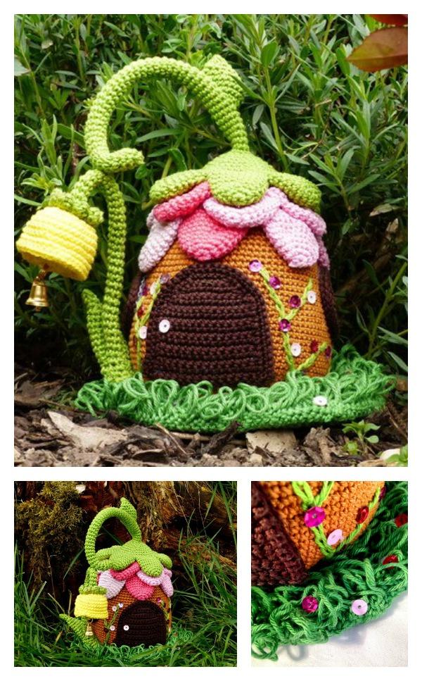 Crochet Adorable Fairies Cottage Pattern
