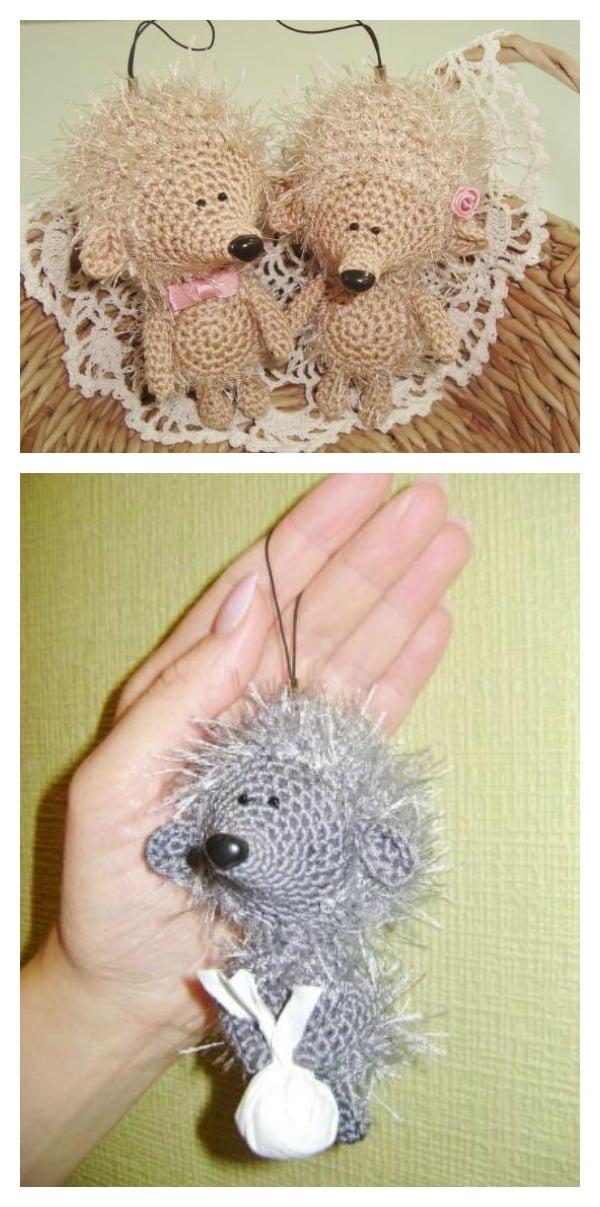 Crochet Amigurumi Feet Pattern : Crochet Hedgehog Amigurumi Free Patterns
