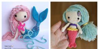 Crochet Amigurumi Mermaid Doll Patterns