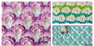 Crochet Flower Stitch Free Patterns
