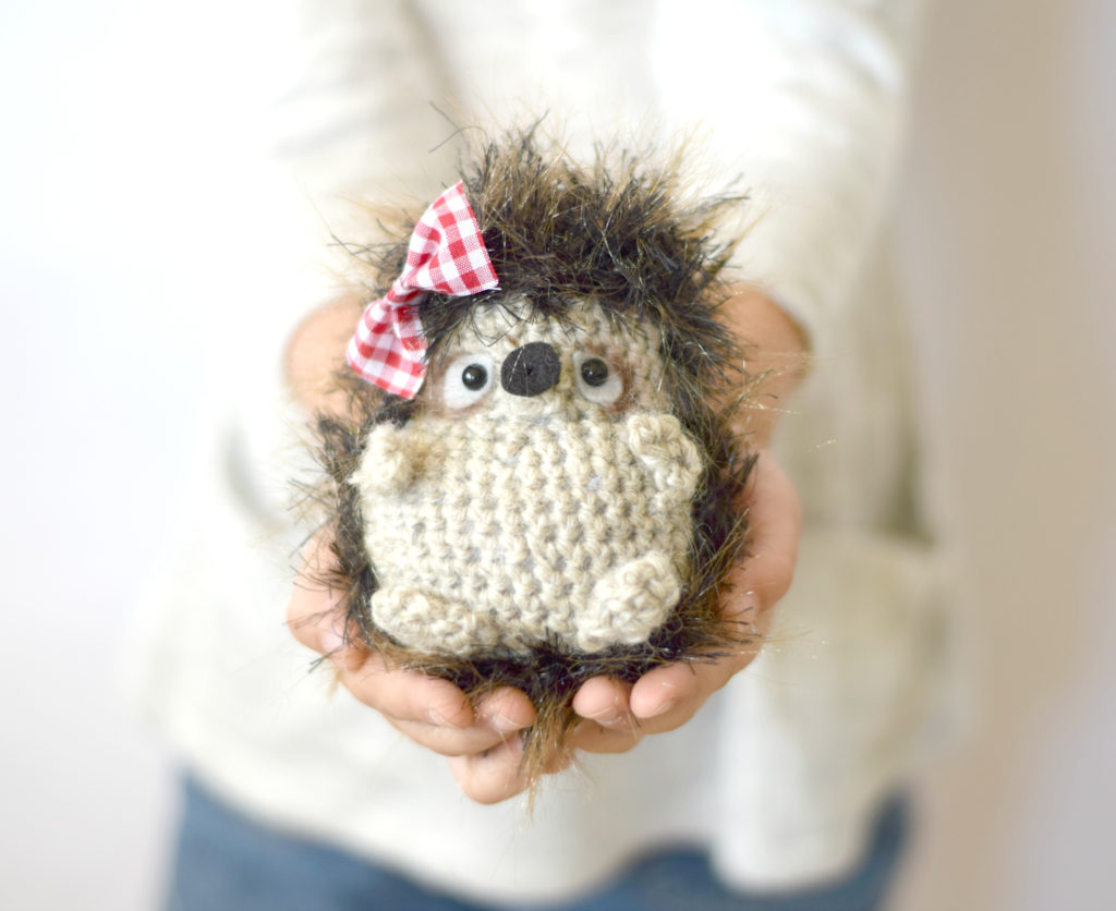 Crochet Woodland Hedgehog Amigurumi Free Pattern