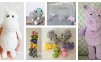 Hippo Amigurumi Crochet Patterns