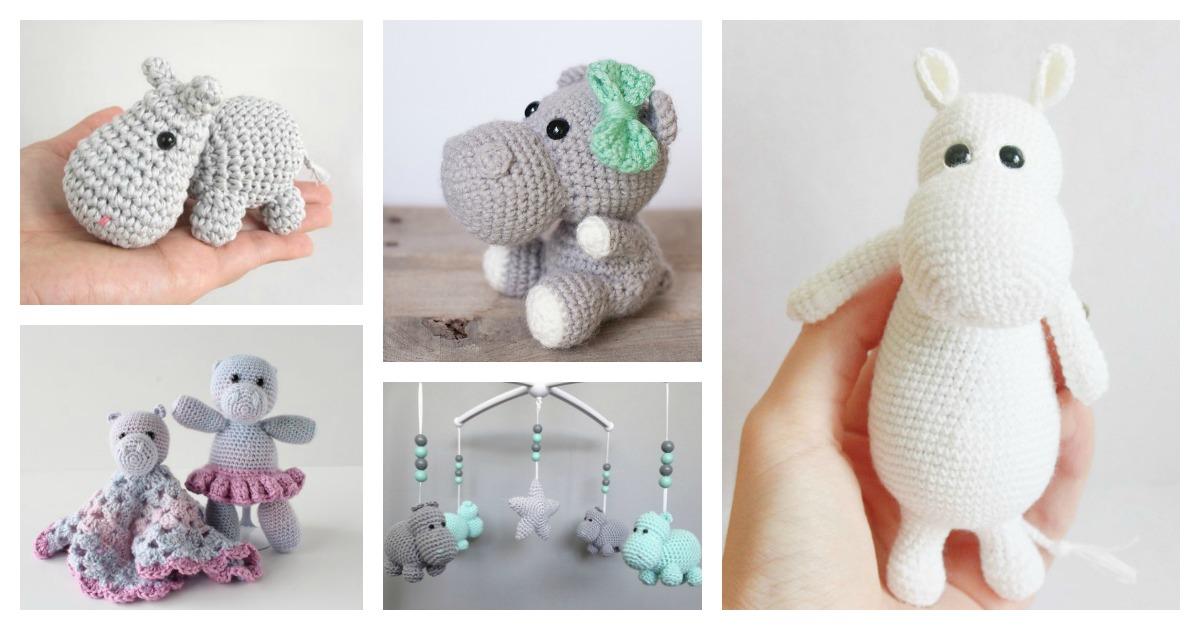 FREE PATTERN: Small Hippo – Kristi Tullus | 630x1200