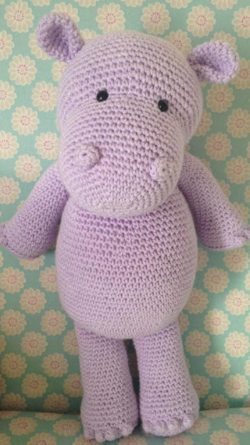 Amigurumi Hippo Pattern Free : Cute Hippo Amigurumi Crochet Patterns