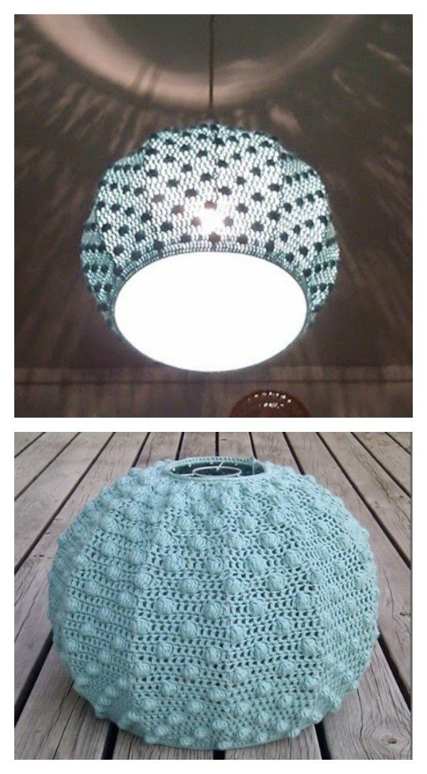 Crochet Lampshade Free Patterns