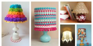 Crochet Lampshade Free Patterns and Ideas