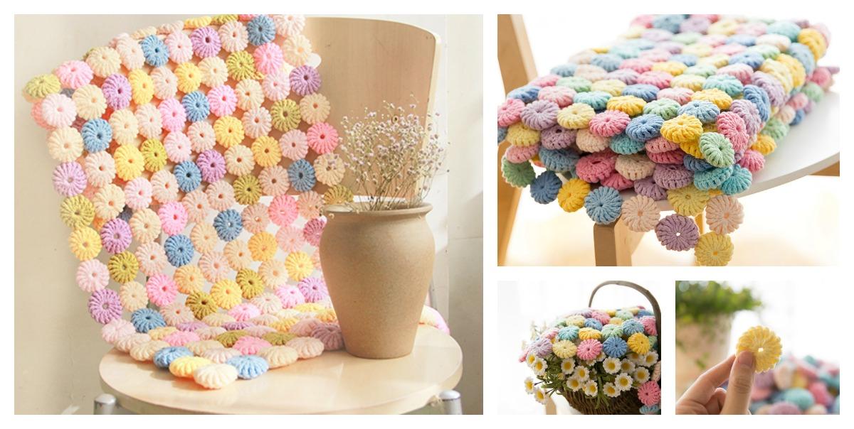 Crochet Yoyo Puff Free Pattern And Video Tutorial