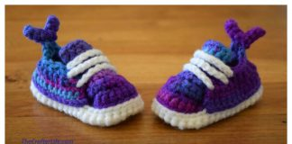 Crochet Mermaid Baby Booties Free Pattern