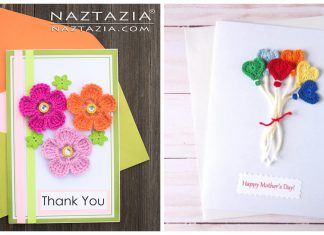 Crochet Mothers Day Greeting Card Free Patterns and Ideas