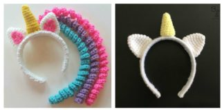 Crochet Unicorn Headband Patterns