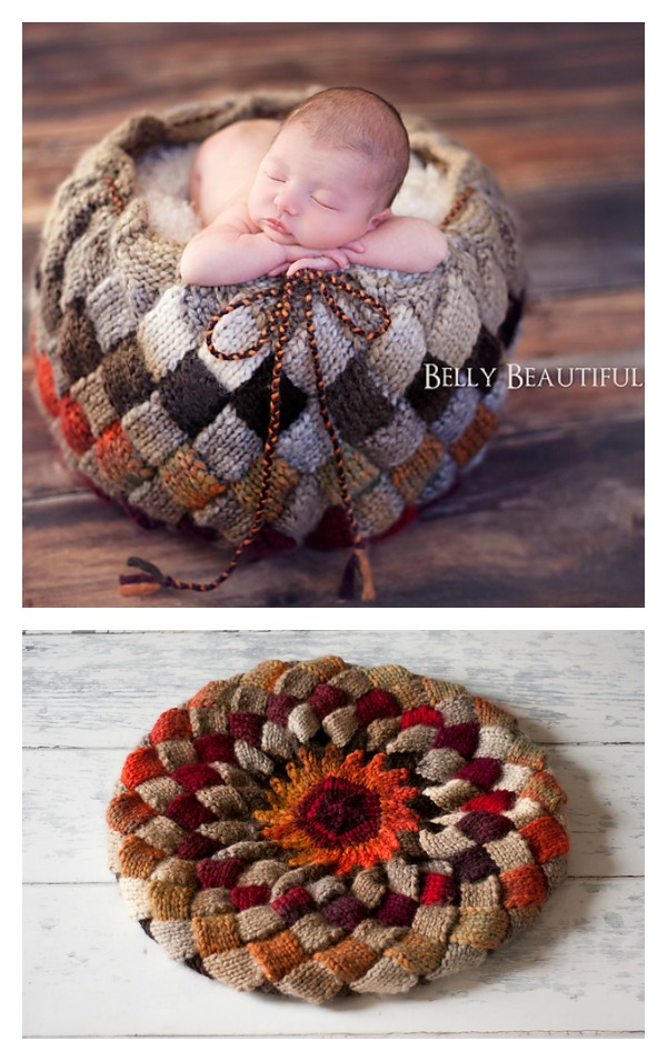Entrelac Basket Knitting Pattern Cool Creativities