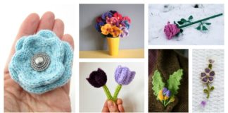 Free Flower Knitting Patterns