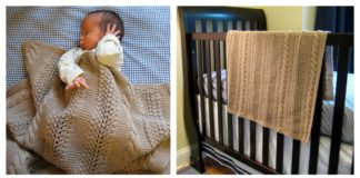 Heavenly Baby Blanket Free Knitting Pattern