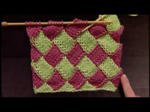How to Knit Entrelac Video Tutorial