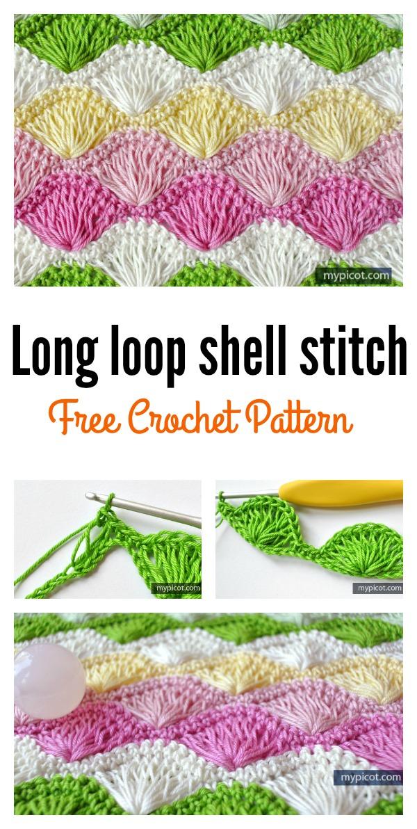 Beautiful Shell Stitch Crochet Free Patterns And Projects